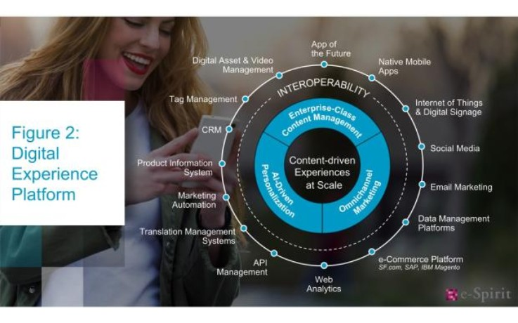 Key components of a digital experience platform